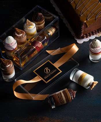 Personalized Mishloach Manos w/Johnnie Walker (box of 4) $38